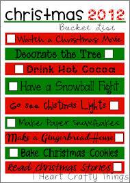 the christmas list christmas list i heart crafty things