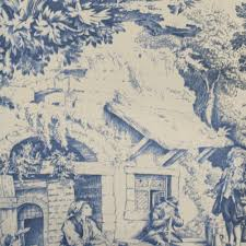 home decor fabric english cottage festin blue fabricville