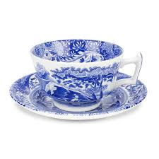 mugs cups and saucers tableware blue italian tableware