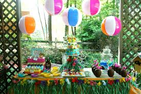 plain pool party decoration ideas inside different article happy