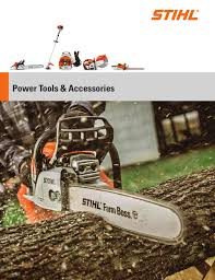 stihl product catalog by anthony chartier issuu