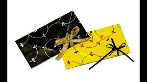 how to make an envelope easy origami envelope tutorial diy