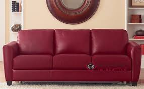 Queen Sleeper Sofa Leather by Attractive Red Leather Sleeper Sofa Liro B592 Queen Leather Sofa