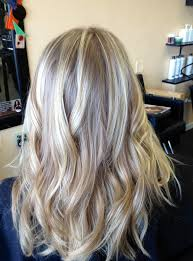 blonde highlights with brown underneath lustyfashion