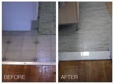 install marble thresholds leading into bathrooms 3 this idea