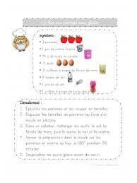 recette de cuisine ce1 librairie 2 recettes illustrées