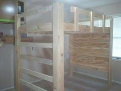 Homemade Loft Bed Free Diy Full Size Loft Bed Plans Awesome Woodworking Ideas How To
