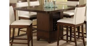 Elmhurst Modern Counter Height Dining Room Set - Counter height dining room table with storage