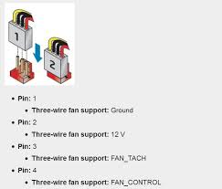 cpu fan 4 pin to 3 pin what is the difference between three and four pin cpu fans