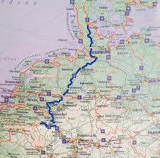 Hamburg Germany Map by 4 Germany U2013 Cyclingeurope Org