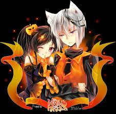 anime halloween night background halloween anime boy ken kaneki tokyo ghoul white hair anime