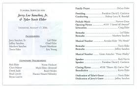 Programs For Memorial Services Samples 100 Program For Memorial Service African Roots Funeral