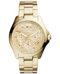 rose tone stainless steel bracelet images Lyst fossil women 39 s cecile gold tone stainless steel bracelet jpeg
