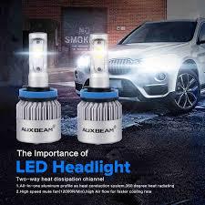 Led Light Bulbs For Headlights by Auxbeam 80w 8000lm G5 H11 Led Light Headlight Vehicle Conversion Bulb