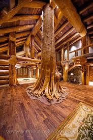 log cabin style living room u0026 loft designs bc canada