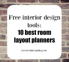 Free Home Interior Design by 10 Of The Best Free Online Room Layout Planner Tools