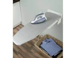 ironing board holder wall mount built in ironing board cupboard robinhood deluxe ironing centre
