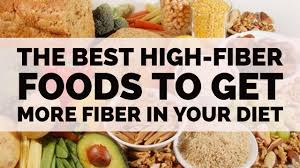 the best high fiber foods to get more fiber in your diet youtube