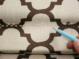 Upholstery Nail Strips How To Upholster A Headboard With Nail Head Trim How Tos Diy