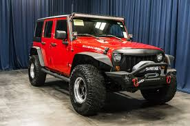 rubicon jeep red lifted 2008 jeep wrangler unlimited rubicon 4x4 northwest motorsport