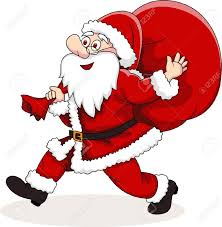 clipart father christmas santa claus collection