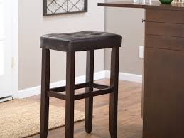 Pub Bar Stools by Furniture Traditional Dark Wooden Kitchen Bar Stool With Rounded