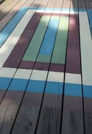 Painting An Outdoor Rug This Is Want I Want To Do Only Overlap Some Of The Stripes To Get
