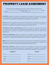 3 commercial lease agreement template marital settlements