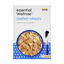 cuisine 750g waitrose essential malted wheats cereal 750g tops