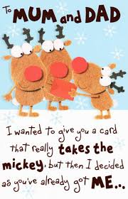to mum u0026 dad funny christmas card cards love kates