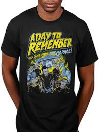official a day to remember they came from the garage t shirt all i