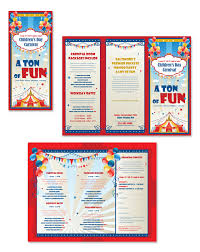 brochure template for kids brochure templates samples brochure