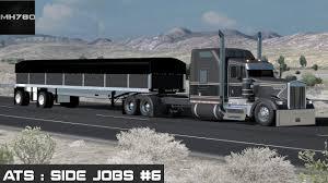 american truck simulator side jobs 6 n c youtube