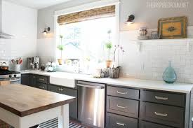Overhead Kitchen Cabinets 10 Reasons I Removed My Upper Kitchen Cabinets The Inspired Room