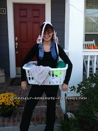 granny halloween costume ideas last minute homemade costume idea dirty laundry homemade