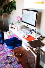 5 easy ways to re vamp a fashionista u0027s desk u2013 the sweetest thing