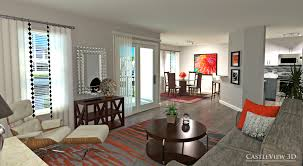 living and dining room architectural renderings from castleview3d com living and dining room architectural renderings