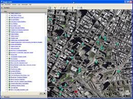 Google Maps New York City by Google Earth Geonames Blog