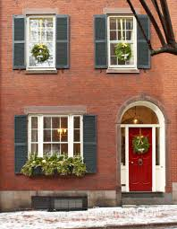 Boston Home Interiors by Historic Boston Home Dressed For The Holidays Traditional Home