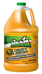 Patio Degreaser Concrete U0026 Driveway Degreaser Mean Green Cleaner U0026 Degreaser