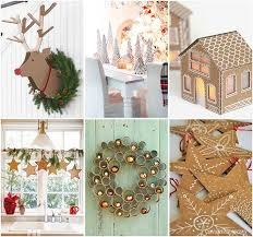 cardboard decorations bren did