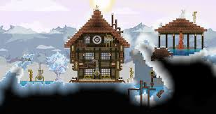 i love the ice planet in my galaxy starbound pinterest