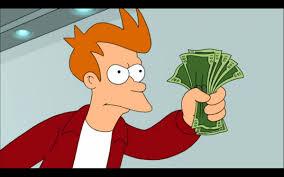 Blank Fry Meme - fry money blank template imgflip