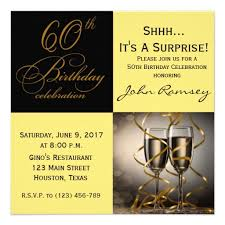 free printable 60th surprise birthday party invitations drevio