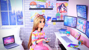 my froggy stuff how to make a doll video gamer room plus free