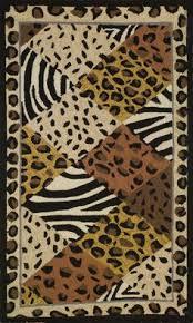 Zebra Print Outdoor Rug Foflor Zebra Print Rug Doormat Runner Area 2 X 3 Doormat