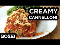 cuisine bosh 3 cannelloni bosh vegan recipe pasta