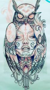 36 best dead owl tattoo images on pinterest owl tattoos day of