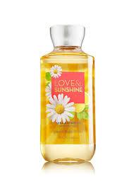love u0026 sunshine shower gel signature collection bath u0026 body works