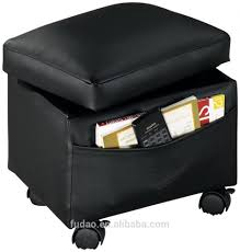 Leather Ottoman With Storage And Tray by Ottomans Black Storage Ottoman With Tray Round Leather Ottoman